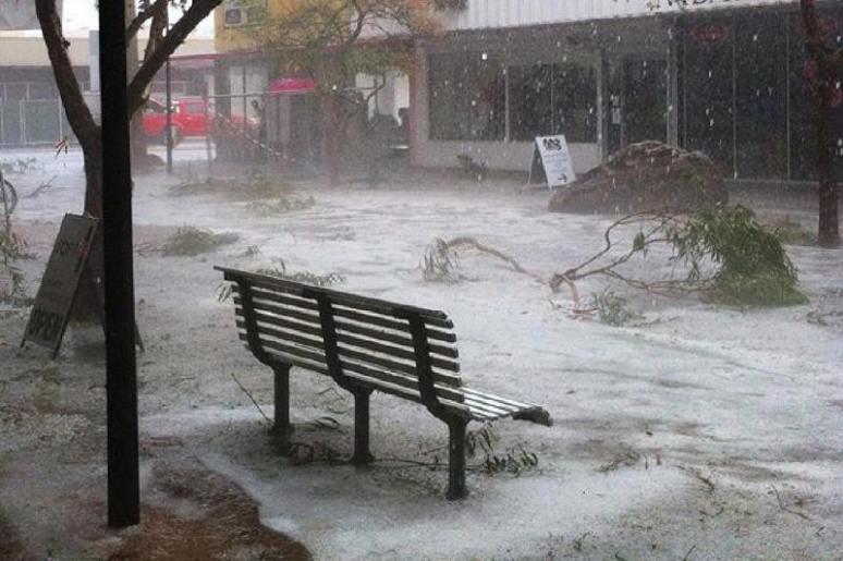 Alice springs hail