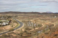 Looking to the East MacDonnell Ranges